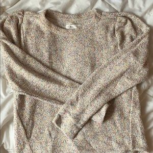 MOVING SALE✨NWOT puff sleeve sweater